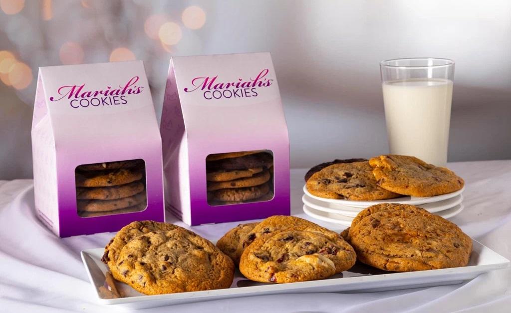 Carey também lançou sua própria marca de cookies em 2020