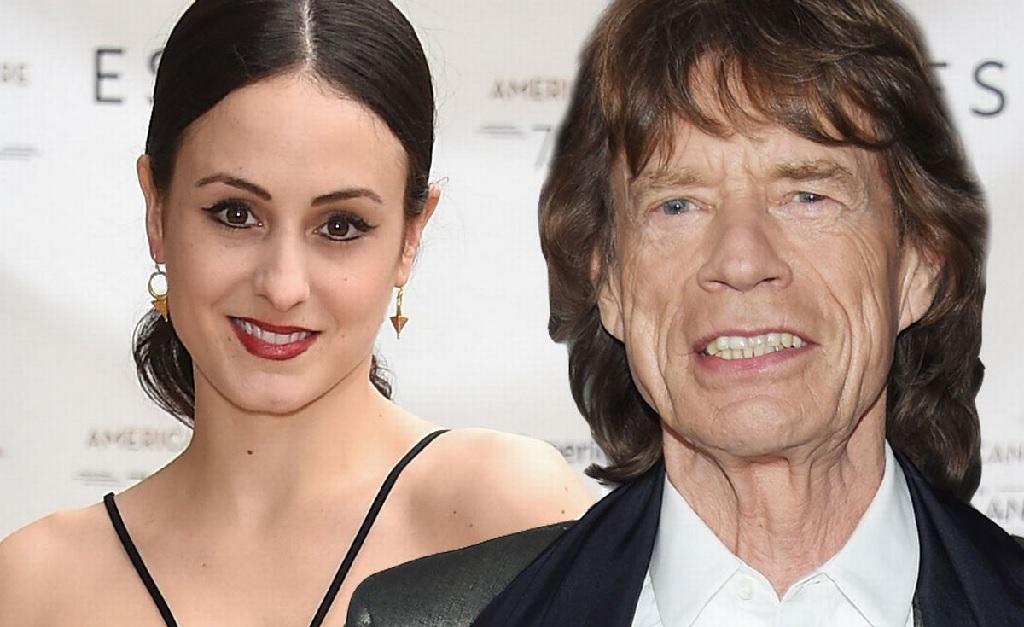 Melanie Hamrick e Mick Jagger
