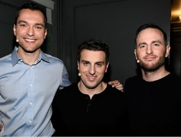 Nathan Blecharczyk, Brian Chesky e Joe Gebbia