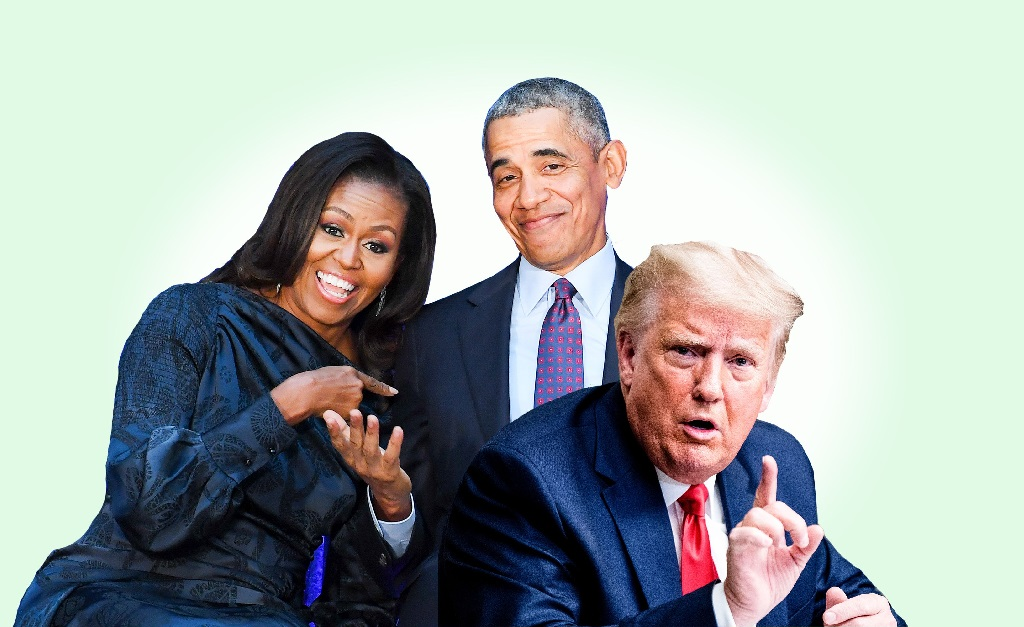 A ex-primeira-dama e o ex-presidente dos EUA vão tirar uma com o rival em grande estilo