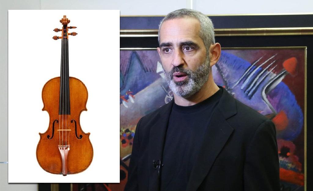 Rowland Weinstein e seu violino do século 18
