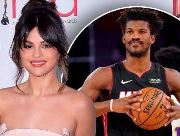 Selena Gomez e o astro da NBA Jimmy Butler