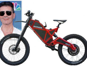 Simon Cowell decide processar em US$ 10 milhões fabricante de bicicleta elétrica que o levou ao hospital