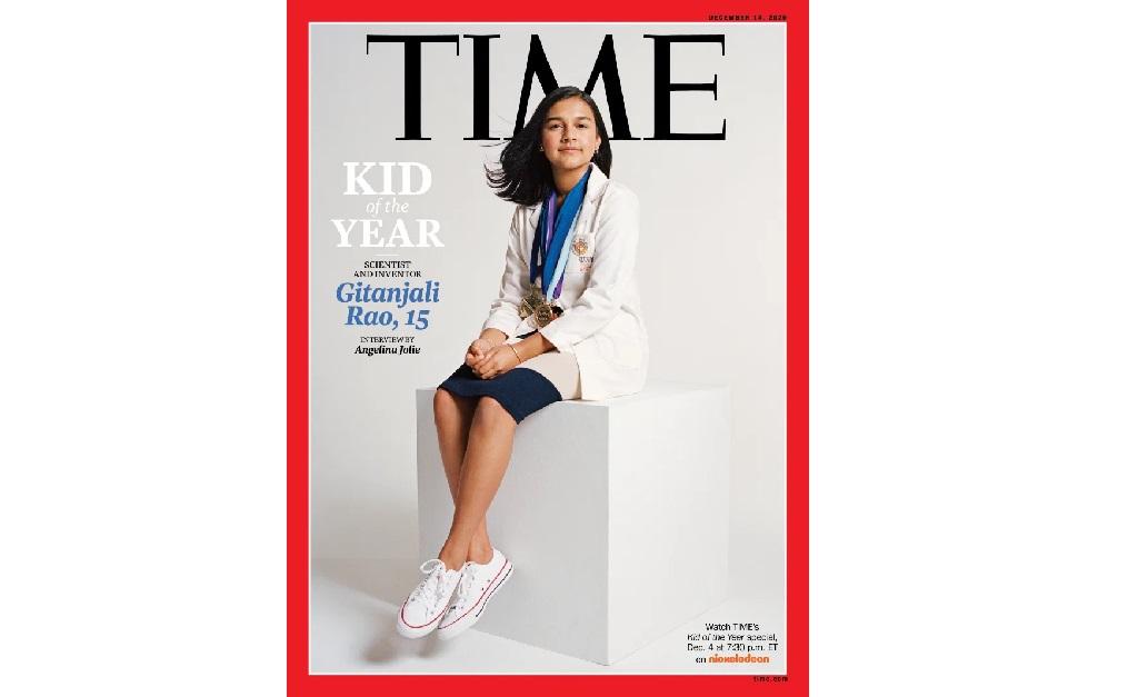"A jovem cientista na capa da ""Time"""