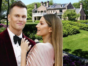 Gisele e Tom Brady contratam top corretora para vender na miúda seu château de R$ 173 milhões