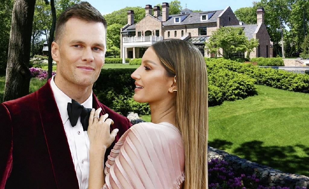 Tom Brady e Gisele Bündchen, e o château deles em Brookline