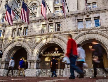 Hotel de Trump em Washington cria pacote para a 'Semana de Inauguração' de Biden