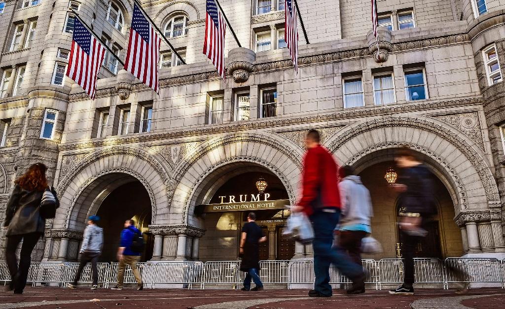O Trump Hotel de Washington, a capital dos EUA