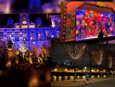 Paris brilha mais do que nunca neste fim de ano para exaltar clima natalino em ano de pandemia