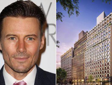 Alex Lundqvist e o prédio do Chelsea, em NY, com apês a partir de US$ 2 mi