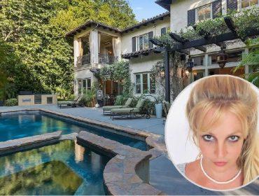 Britney Spears e sua antiga residência