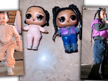 Filhas de Kim Kardashian ganham versão personalizada de boneca hit nos Estados Unidos