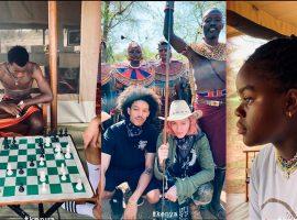 Madonna e família seguem em trip pela África, e visitam tribos no Quênia: 'Passar um tempo com os Samburu é sempre uma honra'