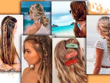 Geração Z: vem ver os penteados que são a cara do verão e ainda controlam os fios na praia ou piscina