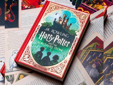 Leitura da semana: a edição 'deluxe' de 'Harry Potter e a Pedra Filosofal' ilustrada e interativa para colecionadores