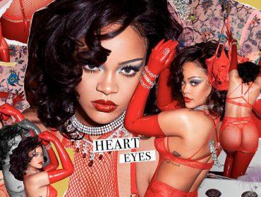 Rihanna estrela campanha de coleção de lingerie coberta de joias que valem mais de R$ 10 milhões