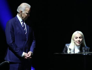 Joe Biden e Lady Gaga