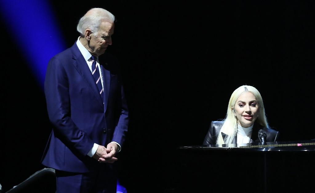 Joe Biden e Lady Gaga