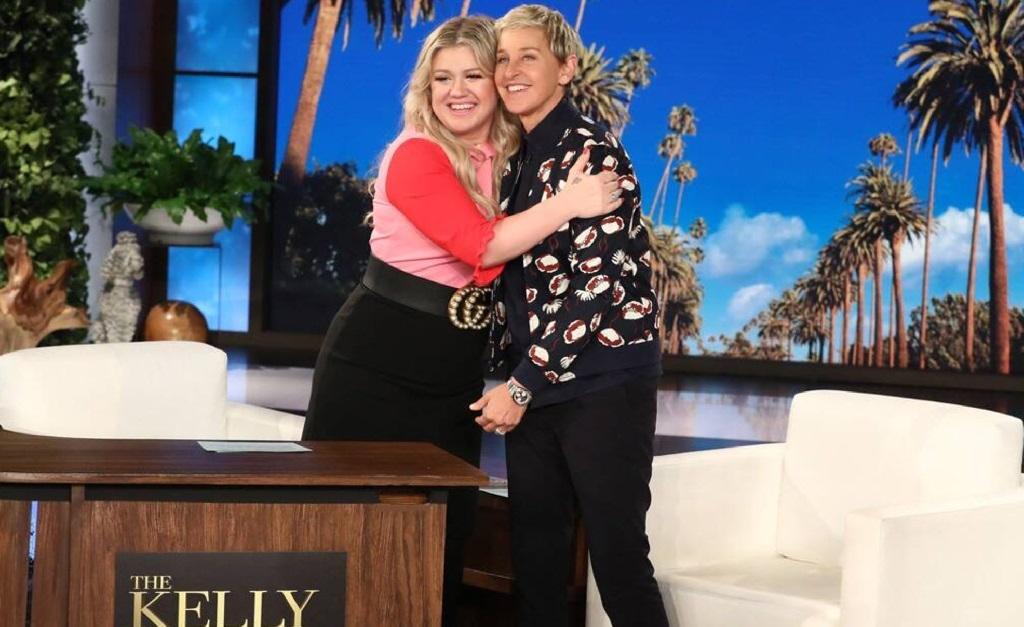 Kelly Clarkson e Ellen DeGeneres
