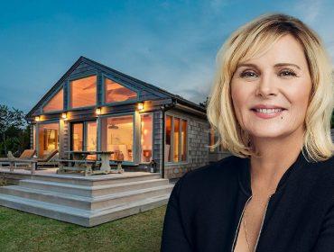 Kim Cattrall e seu ex-château cheio de charme nos Hamptons