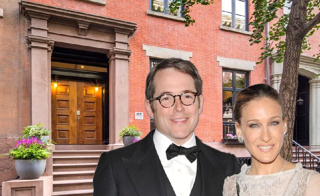 Matthew Broderick e Sarah Jessica Parker, e a townhouse que eles venderam