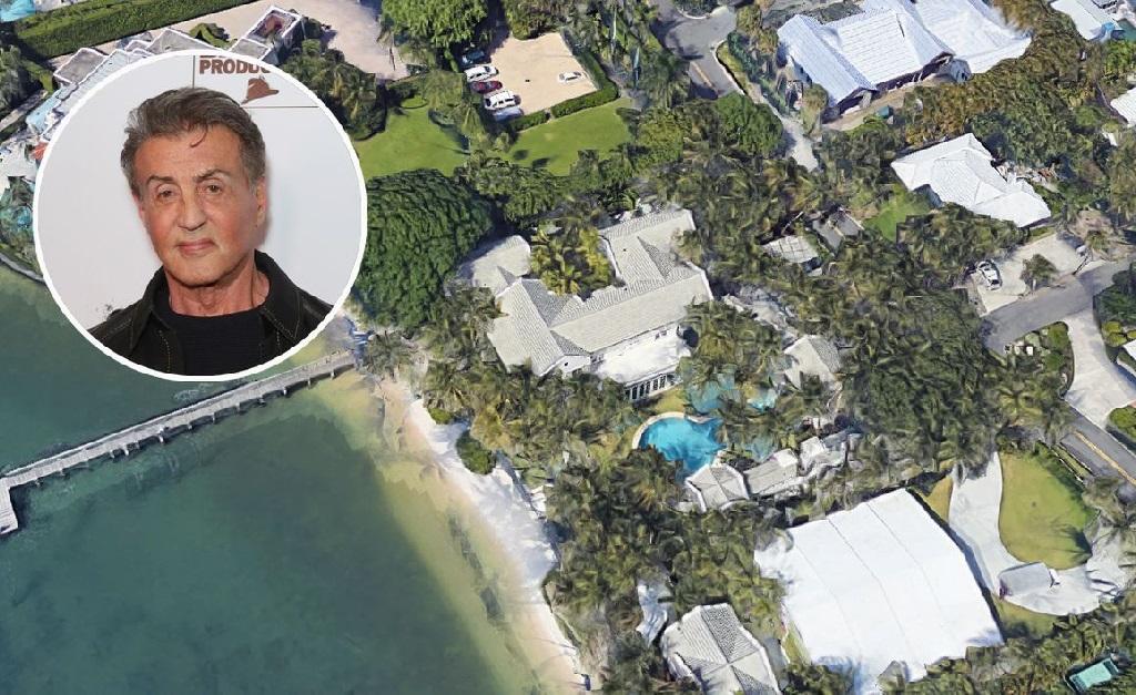 Sylvester Stallone e seu château de quase 2 mil metros quadrados privativos
