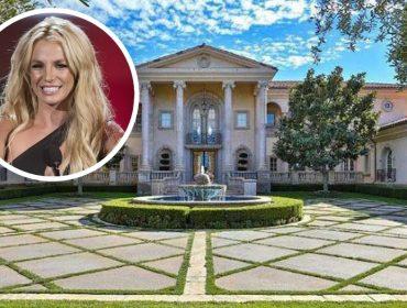 Conheça o chatêau de R$ 40 milhões, com terreno de 84 mil m², que é o lar doce lar de Britney Spears