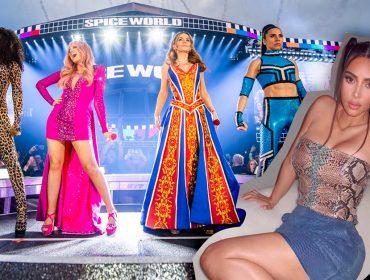 Kim Kardashian pode ter seu dia de Spice Girl no show do 25º aniversário do grupo. Entenda!