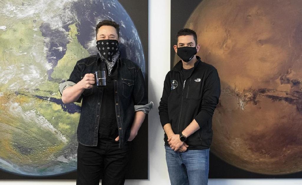 Os bffs Elon Musk e Jared Isaacman
