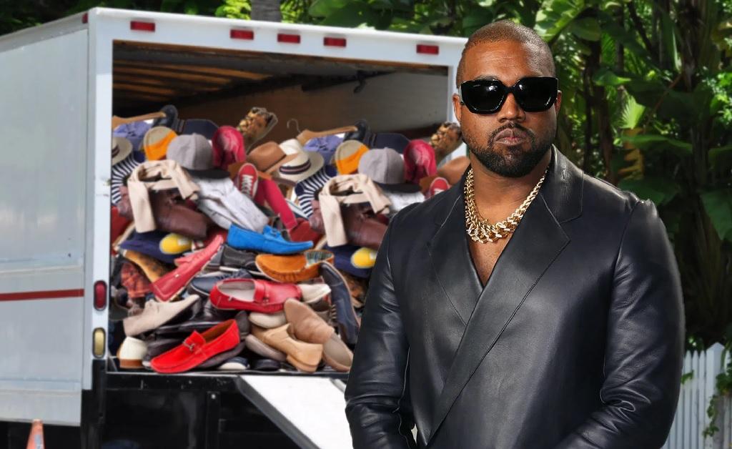 Kanye West já até mandou buscar seus pertences