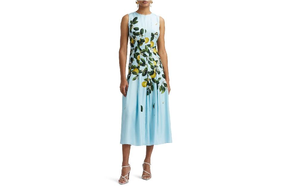 O vestido usado por Markle no evento virtual do Spotify