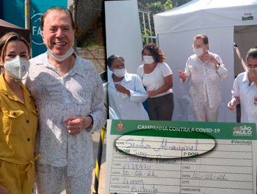 Senhor Abravanel? Nome de Silvio Santos é escrito errado na carteirinha de vacinação
