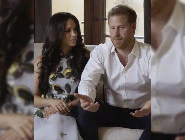 Meghan Markle faz primeira aparição pública grávida e depois de romper laços com a Família Real ao lado de Harry