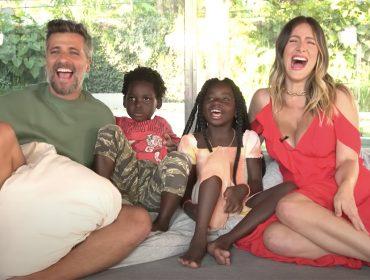 """Bruno, Giovanna, Titi e Bless entregam segredos da família em vídeo divertido: """"Gosto de fazer surpresa, mas sou tão ansioso que conto antes"""""""
