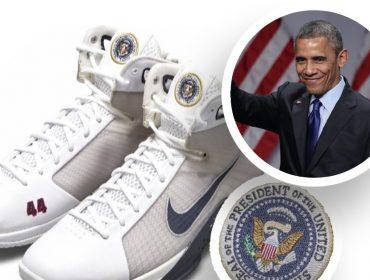 Tênis criado para homenagear Barack Obama será leiloado com lance mínimo de US$ 25 mil