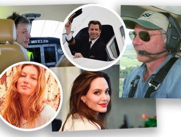 Portas em automático: de Bruce Dickinson a Gisele Bündchen, as celebs que pilotam suas próprias aeronaves