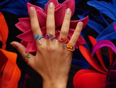 Desejo do Dia: os anéis divertidos e cheios de personalidade de Bea Bongiasca