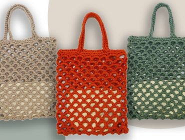 Desejo do Dia: A arte do crochê na bolsa cheia de propósito do coletivo feminino APARAITINGA
