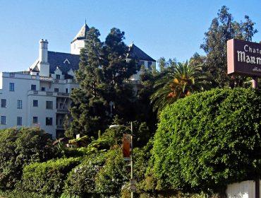 O hotel Chateau Marmont de Los Angeles