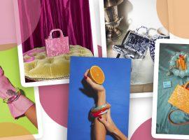 Acessórios e bolsas com estética maximalista da Estilé chegam ao Iguatemi 365