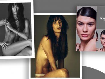 Modelo mineira é escolhida de Tom Ford para sua nova campanha de beleza. Conheça!