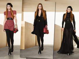 Gigi Hadid volta às passarelas cinco meses depois de dar à luz como destaque do desfile da Versace
