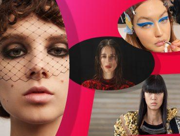 Além de roupas e acessórios, confira as tendências mais fortes em maquiagem e cabelos para a próxima temporada