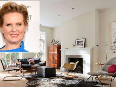 Cynthia Nixon, a Miranda de 'Sex and the City', é flagrada visitando casa à venda por R$ 33 milhões em NY