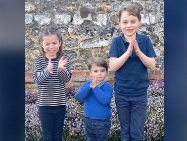 George, Charlotte e Louis já têm os próprios pôneis para o orgulho da bisavó amazona, a Rainha Elizabeth II