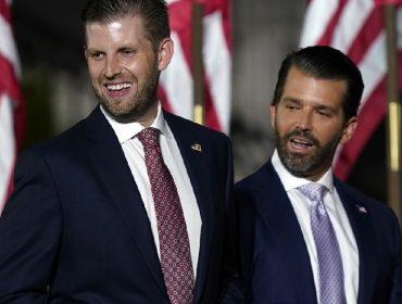 Eric Trump e Donald Trump Jr.