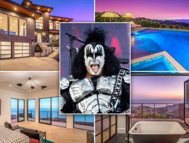 Gene Simmons e seu novo endereço em Malibu