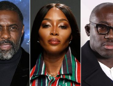 Idris Elba, Naomi Campbell e Edward Enninful