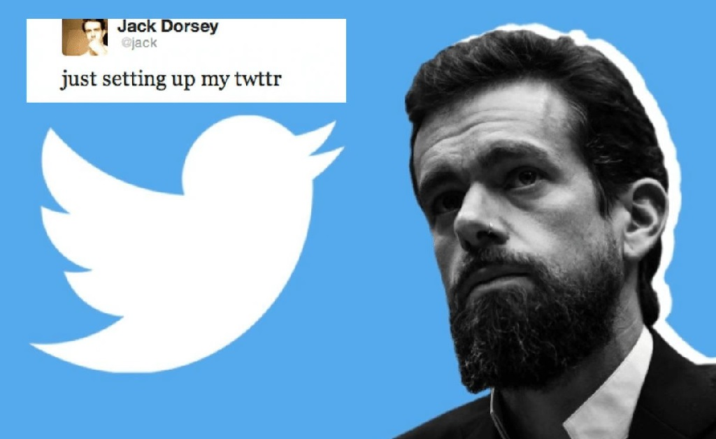 Jack Dorsey e seu primeiro tuíte