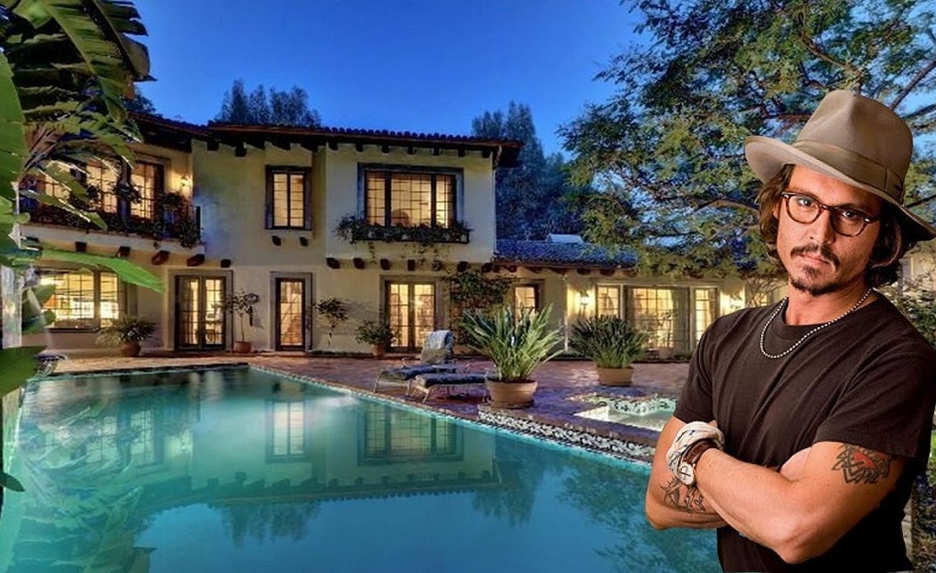 Johnny Depp e seu château de US$ 19 milhões